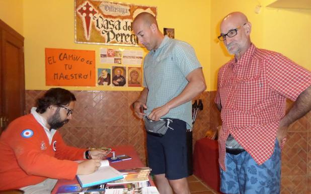 Savia nueva en el albergue de Villalcázar de Sirga