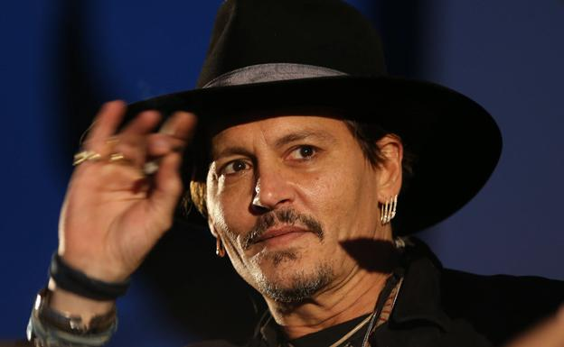 El actor Johnny Depp.