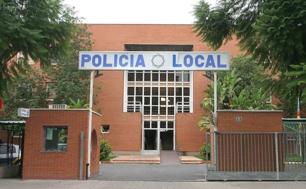 La Policía local de Alicante.