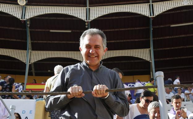 Raúl Muelas, ayer en la Plaza de Toros. /Antonio Quintero