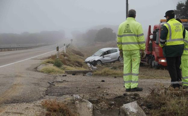 Estado del vehículo accidentado.