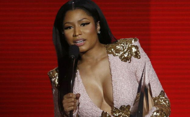 Nicki Minaj. /Reuters