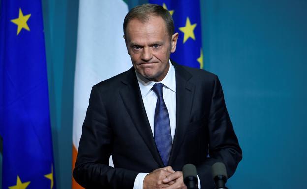 Tusk considera que las negociaciones del 39 brexit 39 se for Presidente del consejo europeo