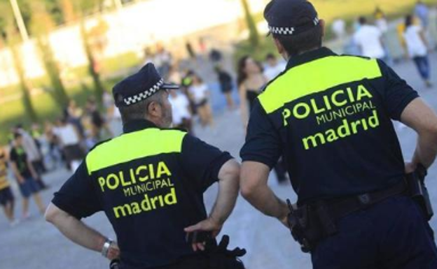 Agentes de la Policía Local de Madrid.