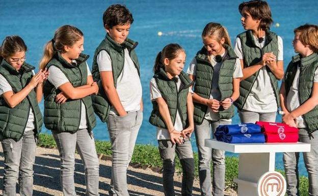 Concursantes de 'MasterChef Junior 5'.