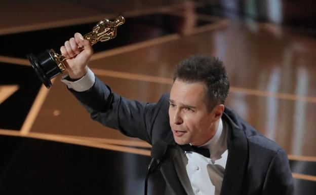Mejor Actor Secundario: Sam Rockwell