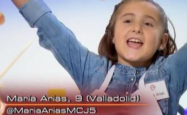 María Arias, de 'MasterChef' Junior a 'MadreChef'