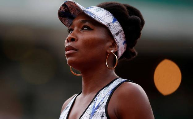 Venus Williams, durante un partido. /Christian Hartmann (Reuters)