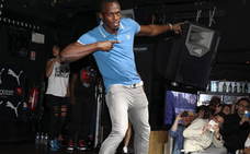 Usain Bolt, en The Box Soho Club. /ABC