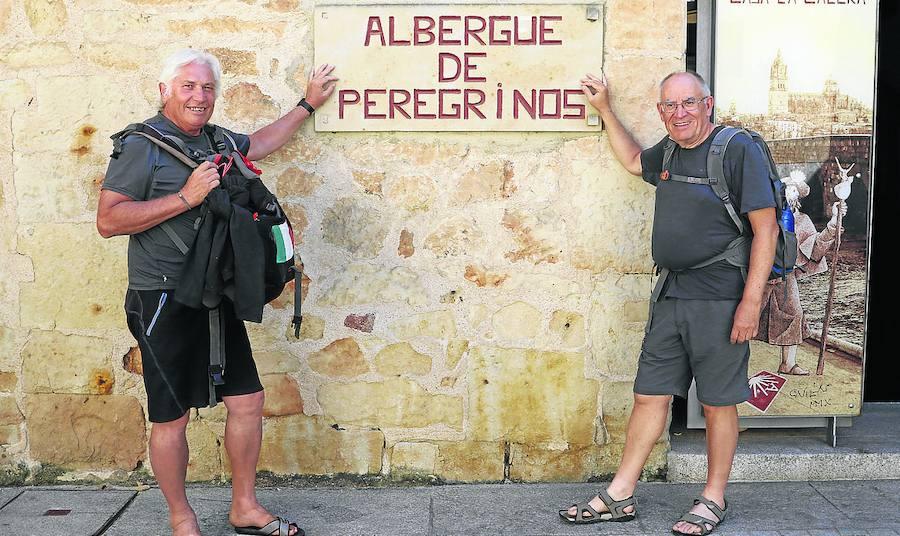 Cerca de 1.200 peregrinos utilizan el albergue de Salamanca en los siete primeros meses del año