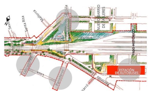 Estacion Tren Leon Mapa.Descubre En Nuestro Grafico Interactivo Como Sera La Integracion Del Tren En Valladolid El Norte De Castilla