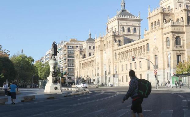 Valladolid cierra al tr fico su casco hist rico el norte - Spa urbano valladolid ...