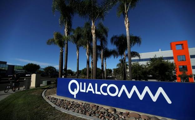 Cartel de Qualcomm en Florida./Reuters