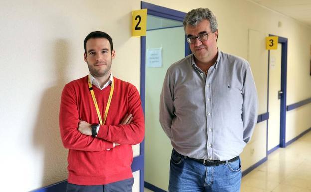 e469a2e30b Los neurólogos David García (I) y Ángel Guerrero, autores de un estudio  sobre