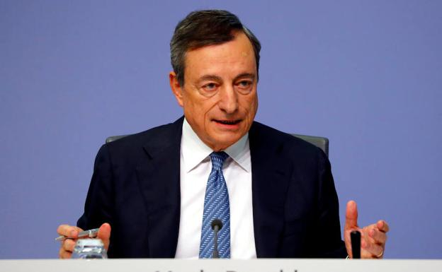Mario Draghi, presidente del Banco Central Europeo./Reuters