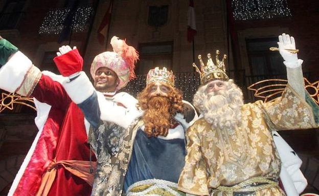 Fotos De Los Reye Magos.La Cabalgata De Los Reyes Magos Recorrera Manana Las Calles
