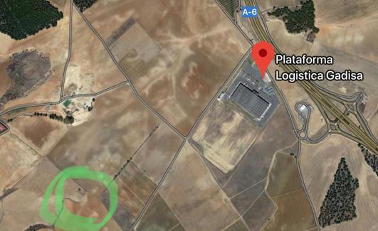 Localización del lugar./
