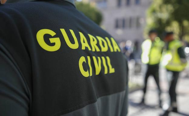 Agentes de la Guardia Civil de Salamanca.