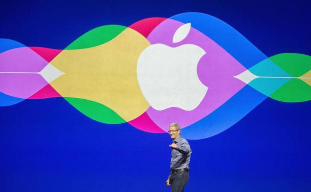 Tim Cook, CEO Apple./AFP