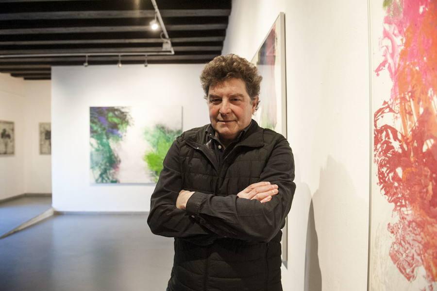 Javier García Prieto, en la exposición en el Palacio de Quintanar, en Segovia, el año pasado. /Óscar Costa