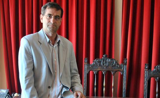 Jaime Pérez, alcalde de Santa María la Real de Nieva. /A. de Torre