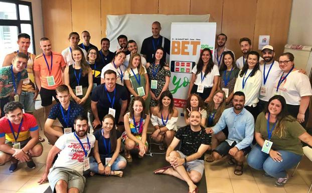 Participantes en el encuentro internacional, financiado por el programa Erasmus+. /C. Catalina