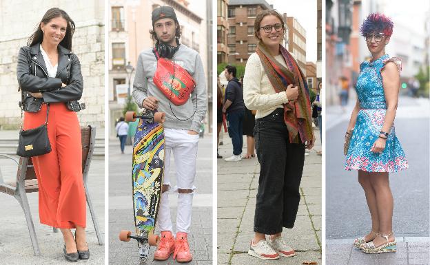 Los 'looks' más coloridos de los vallisoletanos para el