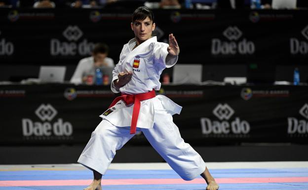 Resultado de imagen de sandra sanchez karate