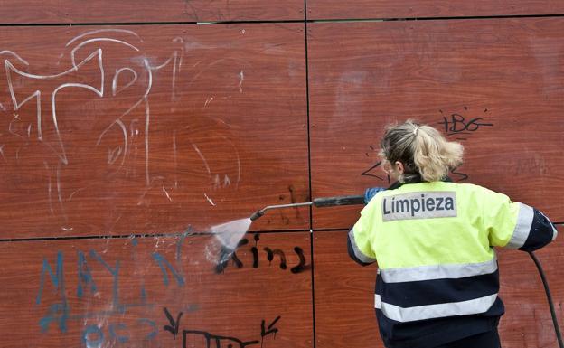 El TSJ impide sustituir el pago de las multas municipales de vandalismo en Valladolid por trabajos sociales