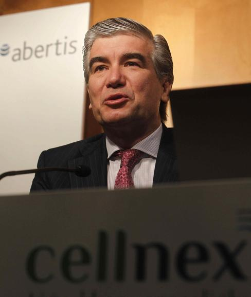 Francisco Reynés, presidente dde Cellnex Telecom./