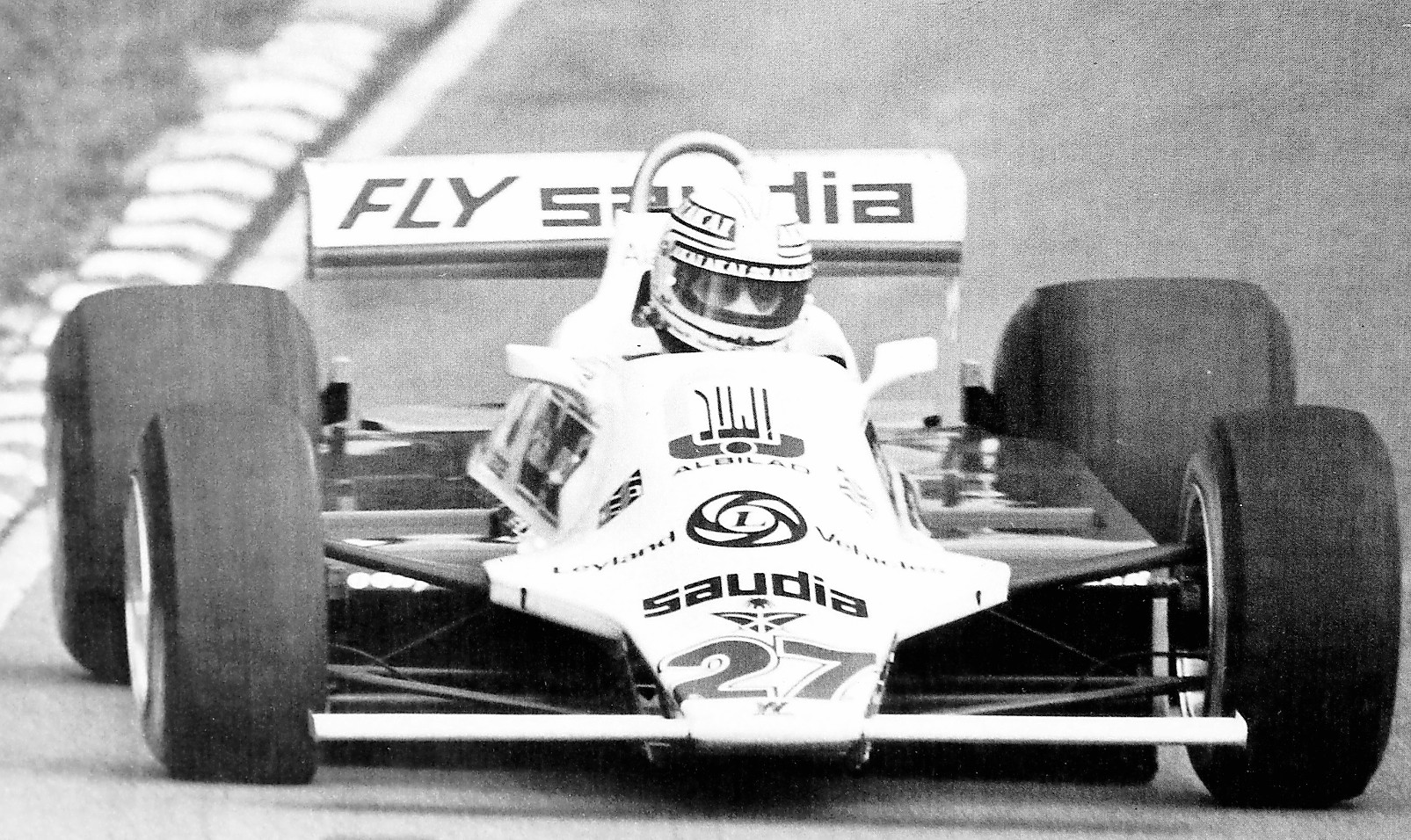 El Williams FW 07 B que permitió a Alan Jones demostar su valía. / El Norte/