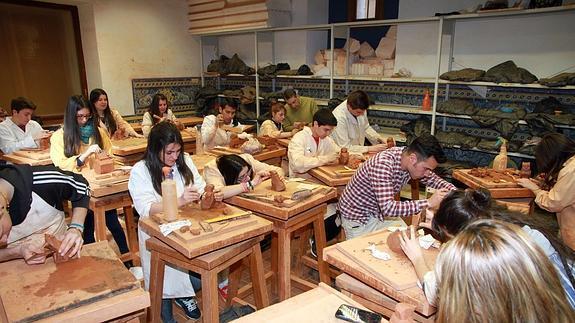 Segovia presume de su escuela de arte y dise o una de las - Escuela de diseno de interiores ...